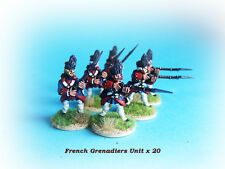 French & Indian War - French Grenadiers Unit x 20