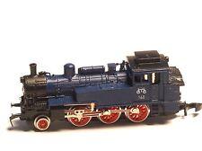 Marklin Z-scale Special Ed Tank Steam Locomotive Class 74 DB 5 Pole Motor /Light
