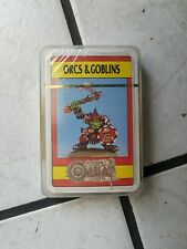 "Warhammer/Citadel Fantasy Playing Cards/Game -noch ovp.""Orcs &Goblins   ""XX"