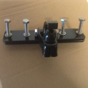 MAXI Edge Fahrradanhängerkupplung mit Anbauplatte MAXI -185mm Lang + Gegenplatte