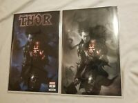 THOR #6 MERCADO VIRGIN B&W COLOR SPLASH UNKNOWN EDITION VAR SET RARE NM+🔥