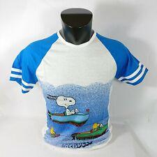 Snoopy T-shirt maglietta maglia Peanuts Charlie Brown Tg L idea regalo 180