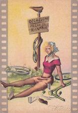 * DONNA SEXY  IN BICICLETTA  - cartolina dis.  Fierafonte (2)