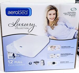 "Inflatable bed Aerobed Luxury Extra Comfort 12"" Full guaranteed no leak .NEW"