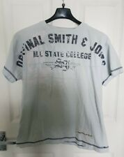 Mens T-Shirt Smith and Jones Cotton Casual Tee Printed Top  Size M