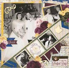 BoBunny Rose Cafe Scrapbook  Paper Kit  12 pcs Bo Bunny Lot