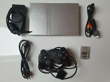 Playstation 2 Slim Silber inkl. Controller und Memorycard