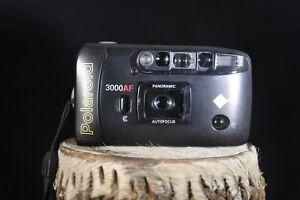 Polaroid 3000 AF Panoramic 35mm Film Camera Auto Flash Autofocus Date Imprint