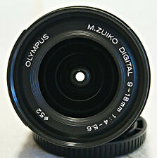 OLYMPUS M. ZUIKO DIGITAL 9-18mm F 1:4-5.6  Mint+++