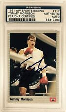 Tommy Morrison Authentic Autograph PSA/DNA 1991 Card Certified Signed Auto