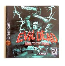 Notice Evil Dead Sega Dreamcast US