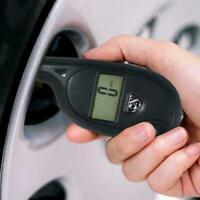 LCD Digital Tire Tyre Air Pressure Gauge Tester Tool Motorcycle Aut Car Kit D9T4