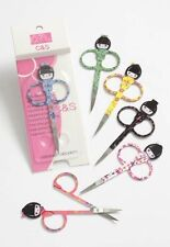 Kokeshi Kimono Geisha Girl Manicure Nail Scissors - ONE PAIR AT RANDOM