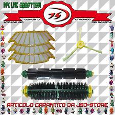 Kit Spazzole Centrali Laterale Filtri per iRobot Roomba Serie 500 510 520 521