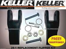 Keller Replacement Flipper Parts Kit Fiberglass Amp Aluminum Extension Ladder