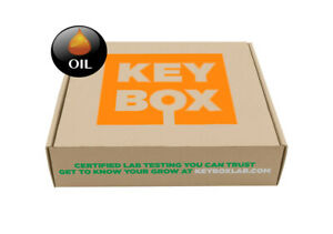 Key Box Labs Potency THC Test Kit Professional lab test OIL test