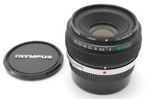 【MINT+++】 Olympus OM-System Zuiko Macro Auto 80mm f/4 MF Lens From JAPAN