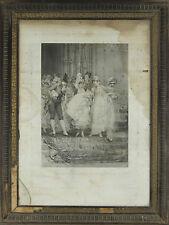 I3-021. BAPTÊME. GRAVURE DE PHOTOS. FREDERICK KAEMMERER. GOUPIL ET CIE. 1879.