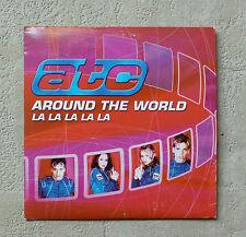 """CD AUDIO / ATC """"AROUND THE WORLD (LA LA LA LA LA)"""" 2000 CD SINGLE CARD SLEEVE 2T"""
