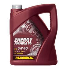 Mannol Energy Formula PD 5 W de 40 API Sn/sm/cf Motorenöl 5 L)