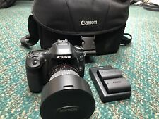Canon EOS 80d 24.2mp DSLR Camera With Rokinon 2.8/14mn Lens And 3 Batteries Case