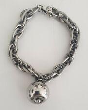Dolce & Gabbana Bracelet Jewels Women's Silver Tone Unisex - Authentic