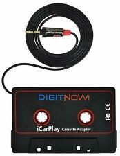 New Audio Car Cassette Tape Adapter Transmitters 3.5 Mm for Phone Ipod Mp3 Aux