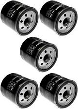 Set of 5 Volkswagen Routan Mahle Engine Oil Filters OC338 7B0115561