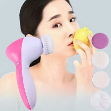 5-1 Multifunction Electric Face Facial Cleansing Brush Spa Skin Care Massage NEW