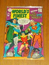 WORLD'S FINEST #173 FN (6.0) DC COMICS SUPERMAN BATMAN FEBRUARY 1968 TWO-FACE