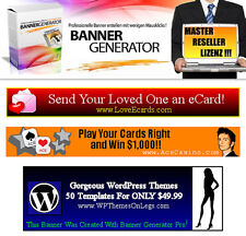 Banner Generator - Banner ganz easy selbst erstellen - Master Reseller