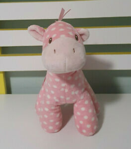 BABY GUND LOLLY & FRIENDS PINK POLKA DOT PONY 4050498 STUFFED ANIMAL PLUSH TOY