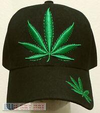 MARIJUANA HIGH CANNABIS CHRONIC KUSH POT HEMP LEAF WEED PLANT SMOKE DOPE CAP HAT