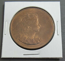 Queen Elizabeth II 2 June 1953 Coronation Medal with Ship on Reverse Medal