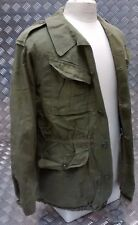 Genuine Vintage Military Combat Jacket 1980`s Distressed Look Unique Look 60`s