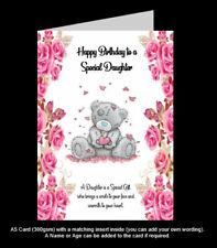 A5 'Tatty Teddy/Me to You' Birthday Card, Handmade, Daughter, Mum, Niece (PR60)