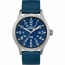 "Timex TW4B07000, Men's ""Expedition"" Blue Nylon Watch, Scout, TW4B070009J"