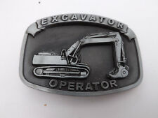 EXCAVATOR BELT BUCKLE digger driver jcb plant tools