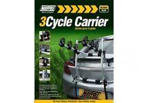 Car Van Estate Aluminium Alloy High Rear Mount 3 Bike Bicycle Cycle Carrier Rack