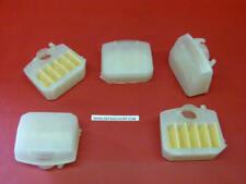 x5 Filtres à air Husqvarna tronçonneuse adaptable 340 345 346XP 350 351 353 340E