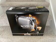 Breville Nespresso Creatista Plus Coffee Machine - Truffle Black