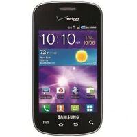 Verizon Page Plus Samsung Illusion SCH-i110 Black CDMA Android 3MP
