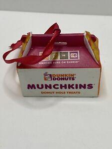 Dunkin' Donuts Munchkins ornament Christmas Holiday