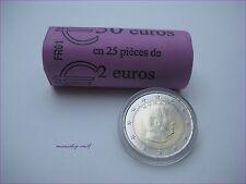 """25 x 2 Euro Moneta Da Corso Monaco 2016 UNC. """"il principe Alberto II."""" - originale visione ruolo"""