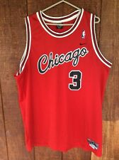 Chicago Bulls Tyson Chandler Jersey Stitched Nike Team 2XL XXL  3 4b5b62ae3