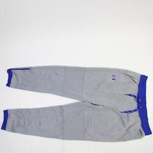 SDSU Jackrabbits Under Armour ColdGear Athletic Pants Men's Gray Used