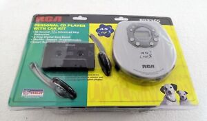 RCA RP2365 Slim-Design Portable CD Player with Car Kit -  FREE EXPEDITED SHIPPIN