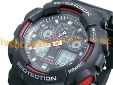 CASIO G-Shock GA100-1A4 GA-100-1A4 Ana-Digi XLarge Free Ship @