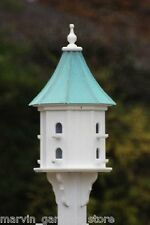 FANCY HOME PRODUCTS BIRDHOUSE PATINA COPPER SLOPE ROOF