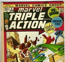 FANTASTIC FOUR #59 Reprint in MARVEL TRIPLE ACTION #3 from Jun 1972 in Fine+ con